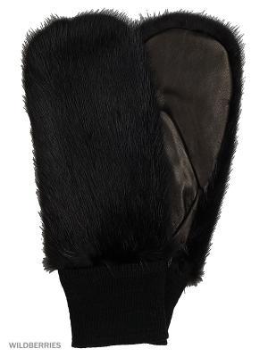 Варежки Marco Bonne`. Цвет: черный