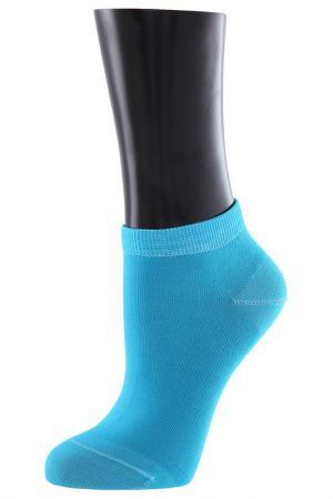 Носки TELLER. Цвет: бирюзовый