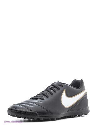 Шиповки TIEMPO RIO III TF Nike. Цвет: черный