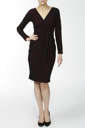 Платье Rhea Costa. Цвет: красный