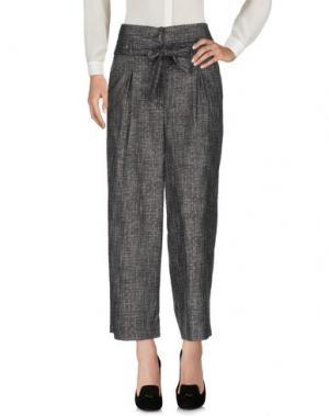 Повседневные брюки JUCCA. Цвет: черный