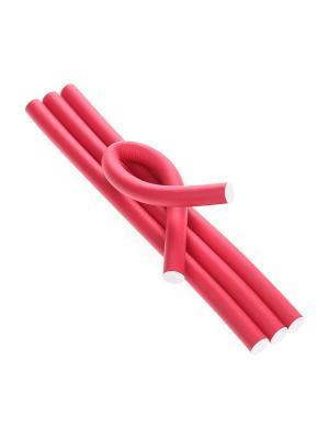 Бигуди (4 шт.) Migura. Цвет: красный