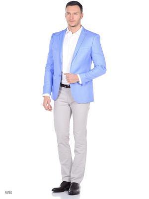 Пиджак STENSER. Цвет: светло-голубой