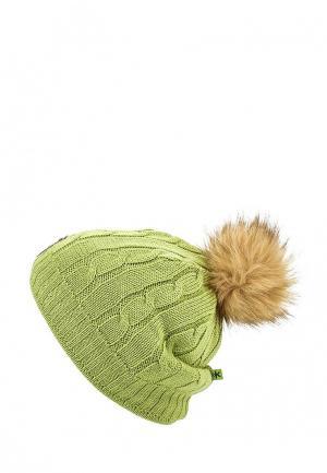 Шапка Kama. Цвет: зеленый