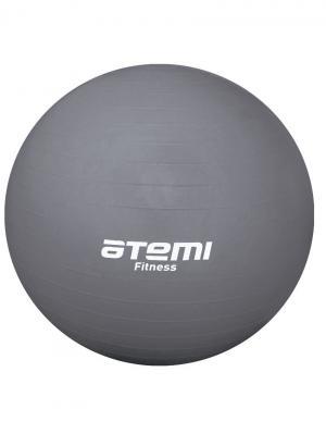 Мяч гимнастический 85 см. Atemi. Цвет: серый