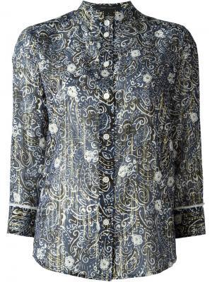 Рубашка с принтом Marc Jacobs. Цвет: синий