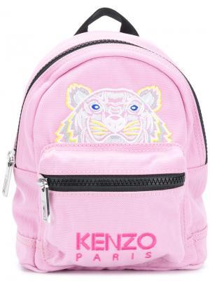 Мини-рюкзак Tiger Kenzo. Цвет: розовый и фиолетовый