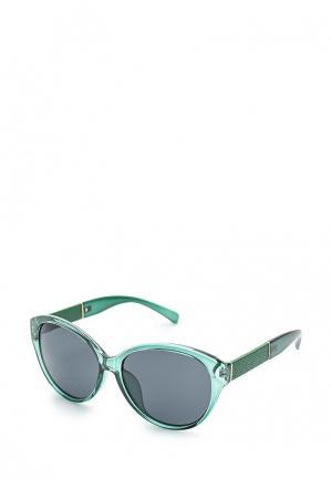 Очки солнцезащитные Mascotte. Цвет: зеленый