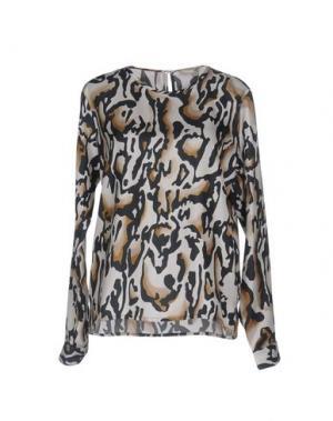 Блузка VALENTINE GAUTHIER. Цвет: бежевый