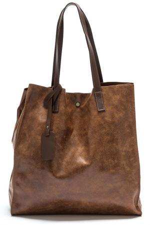 BAG ANNA LUCHINI. Цвет: brown