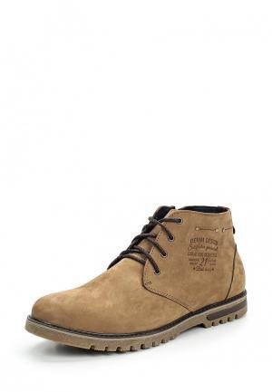 Ботинки Dino Ricci Trend. Цвет: бежевый