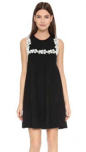 Платье без рукавов Giambattista Valli. Цвет: черный/белый