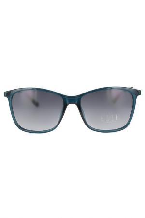 Очки солнцезащитные ELLE. Цвет: морская волна