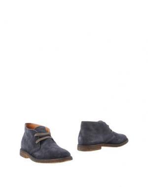Полусапоги и высокие ботинки UIT. Цвет: грифельно-синий