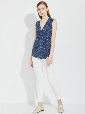 Блуза женская Charuel. Цвет: синий