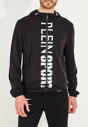 Куртка Plein Sport. Цвет: черный