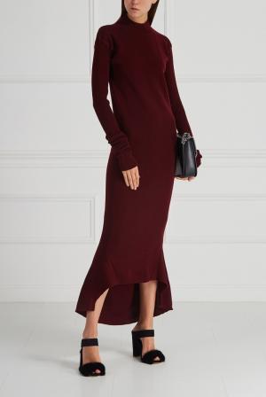 Шерстяное платье Aquilano.Rimondi. Цвет: красный