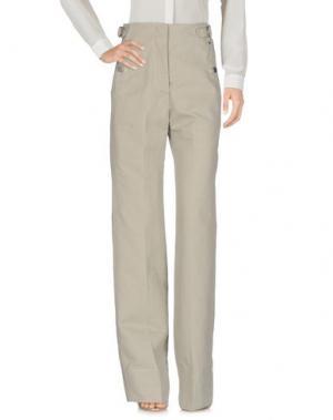Повседневные брюки LEMAIRE. Цвет: серый