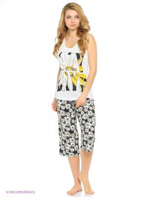 Комплект одежды Vienetta Secret. Цвет: кремовый