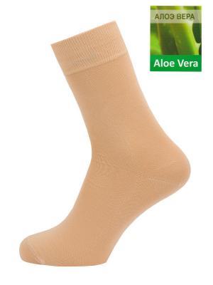 Носки, 5 пар GREG. Цвет: бежевый