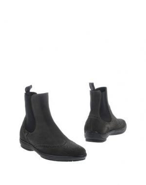 Полусапоги и высокие ботинки GUARDIANI DRIVE. Цвет: серый
