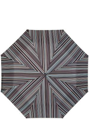 Зонт Labbra. Цвет: коричневый, белый, светло-голубой