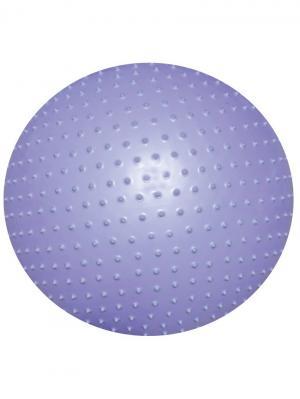 Мяч гимнастический (массажный) 75 см. Atemi. Цвет: фиолетовый