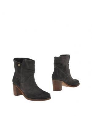 Полусапоги и высокие ботинки MANILA GRACE. Цвет: свинцово-серый