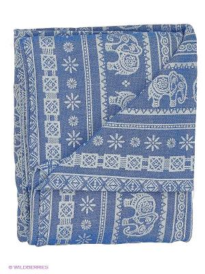 Слинг-шарф Elephant Haiti Mum`s Era. Цвет: синий, молочный