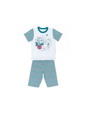 Пижама Модамини. Цвет: голубой, синий
