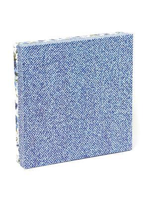 Подарочная коробка VELD-CO. Цвет: синий, белый, серо-голубой