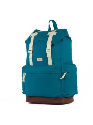 Рюкзак ЗАПОРОЖЕЦ Daypack Heritage. Цвет: синий, коричневый
