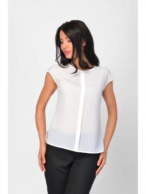Блузка Maria Velada. Цвет: белый