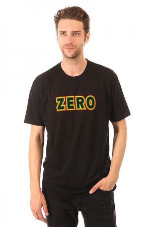 Футболка  Rasta Bold Premium Zero. Цвет: черный