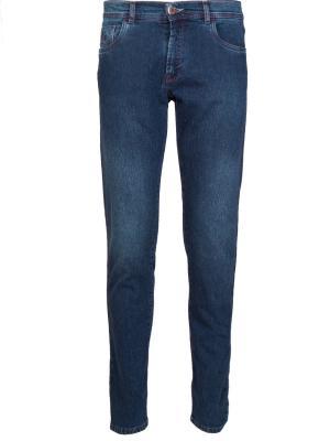 Прямые джинсы Scissor Scriptor. Цвет: синий