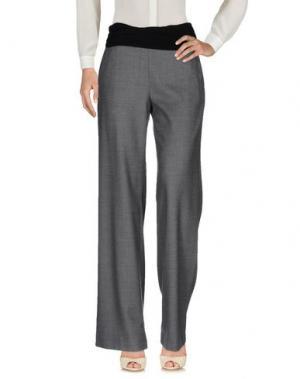 Повседневные брюки NEW YORK INDUSTRIE. Цвет: серый