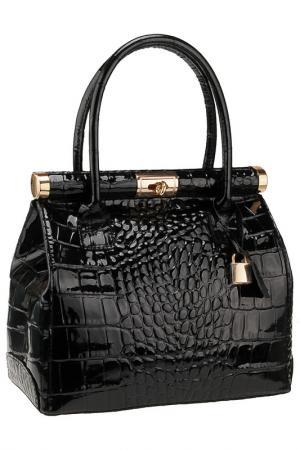 Сумка FLORENCE BAGS. Цвет: черный