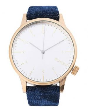Наручные часы KOMONO. Цвет: серебристый