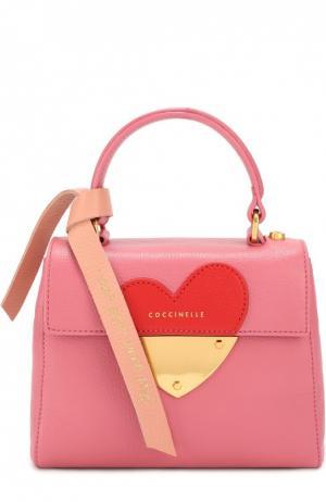 Сумка B14 In Love mini Coccinelle. Цвет: розовый