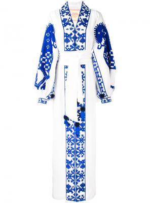 Платье Herd Yuliya Magdych. Цвет: белый