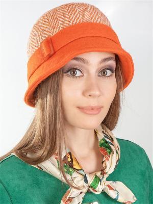 Шляпка LORICCI. Цвет: оранжевый, бежевый