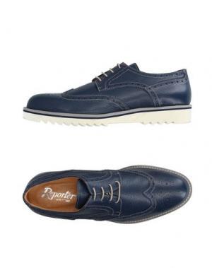 Обувь на шнурках REPORTER. Цвет: темно-синий