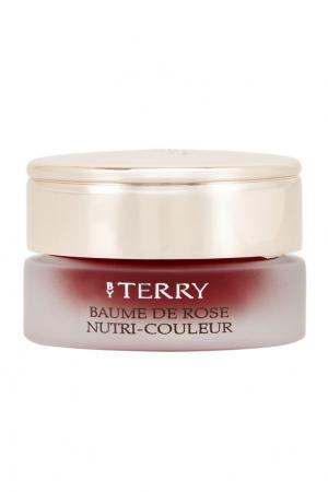 Питательный бальзам для губ Baume de Rose Nutri Couleur, 4 Bloom Berry, 7gr By Terry. Цвет: красный