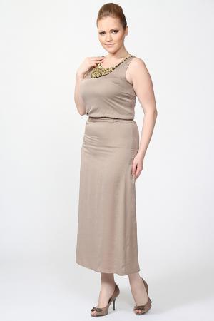 Платье LiberaVita. Цвет: бежевый