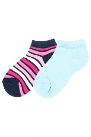 Носки Scool S'cool. Цвет: синий, голубой, красный, белый