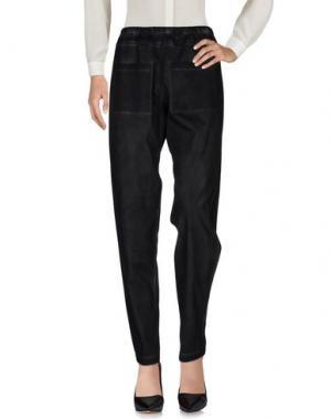 Повседневные брюки MARIA CALDERARA. Цвет: свинцово-серый