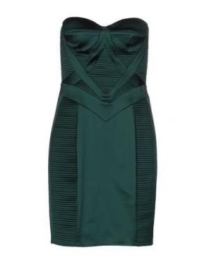 Короткое платье ATELIER SIVIGLIA. Цвет: темно-зеленый