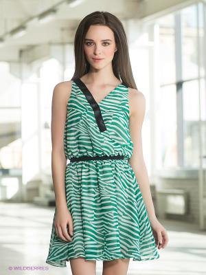 Платье Formalab. Цвет: зеленый