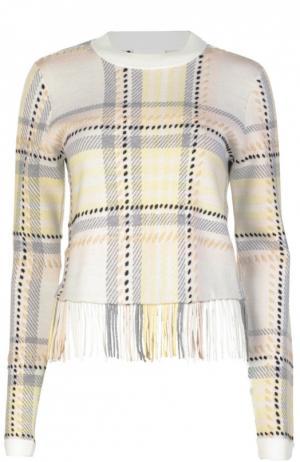 Вязаный свитер Chloé. Цвет: желтый
