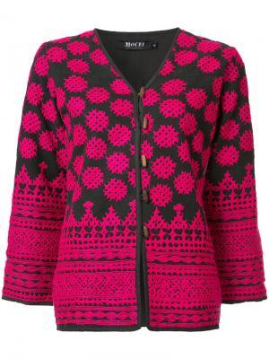 Stitched toggle jacket All Things Mochi. Цвет: синий
